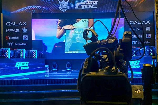 Quay livestream sự kiện GOC